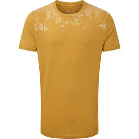 tentree Palm Classic Camiseta Hombre, amarillo